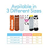 Baby Knee High Cartoon Socks 6 Pairs with Animal