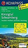 Kinzigtal - Schramberg - Haslach - Wolfach - Schiltach - Hornberg: Wanderkarte mit Aktiv Guide, Radwegen und Loipen. GPS-genau. 1:25000 (KOMPASS-Wanderkarten, Band 880)