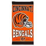 WinCraft NFL Cincinnati Bengals Beach Towel 150x75cm