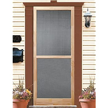 Elegant Brown Vinyl Screen Doors