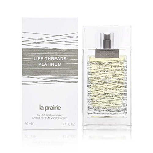 - La Prairie Life Threads Platinum Eau De Parfum Spray for Women, 1.7 Ounce