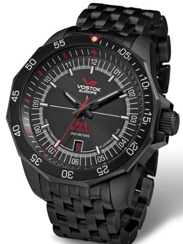 Vostok-Europe N1 Rocket Russian Automatic Watch with Trigalight Tubes 2254150B