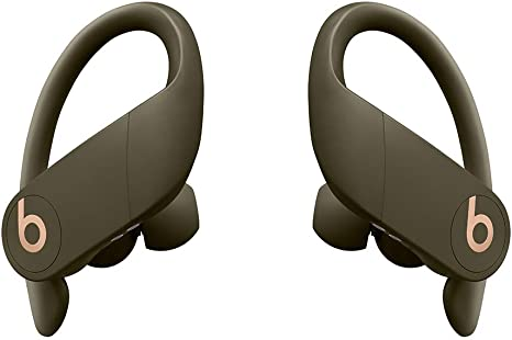 Powerbeats Pro Wireless Earphones - Apple H1 Headphone Chip, Class 1 Bluetooth, 9 Hours Of Listening Time, Sweat Resistant Earbuds - Moss