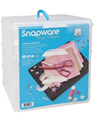 Snapware Snap N Stack Large Sq 3 Layer 4 Dividers