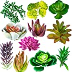 Housenior-Artificial-Succulent-Plants-Unpotted-Bulk-24-Pack-of-Small-Fake-Succulents-Assorted-Loose-Faux-Realistic-Mini-Plastic-Cactus-Stems-for-Terrarium-Greenery-Outdoor-and-Indoor-Arrangements