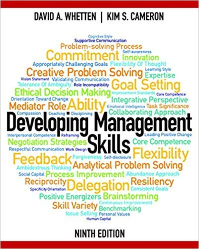 Developing Management Skills (9th Edition)