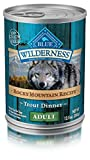 Blue Buffalo Wilderness Rocky Mountain Recipes Adult Trout - Grain Free 12.5 oz, Pack of 12
