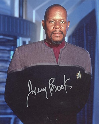 AVERY BROOKS as Captain Benjamin Sisko - Star Trek: Deep Space Nine GENUINE AUTOGRAPH