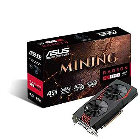 Amazon.com: ASUS Mining RX 470 4 G – Tarjeta gráfica ...