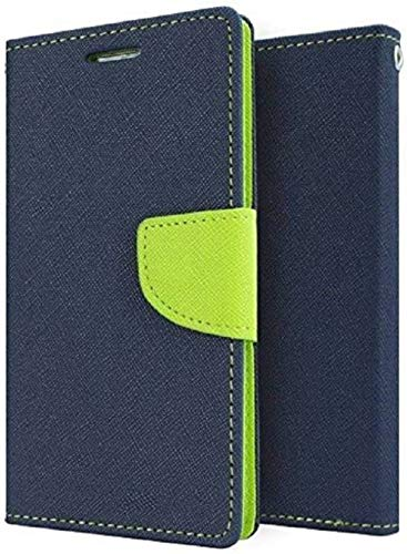 half off 96a03 6dfd5 TrendPlayer Flip Cover for Vivo Y69 Pink Blue Artificial Leather ...