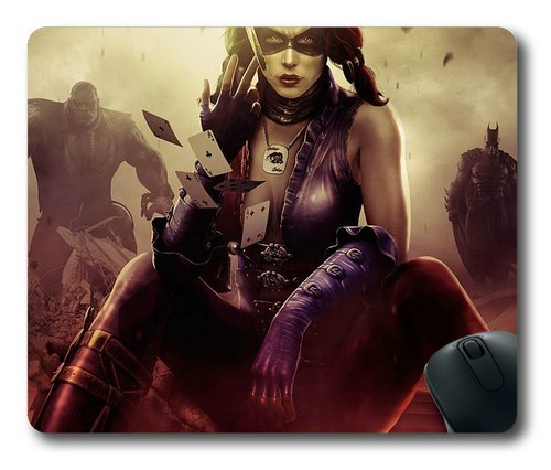 Price comparison product image Injustice-Gods-Among-Us-Harley-Quinn Mouse Pad Rectangle Shaped by Skynessky