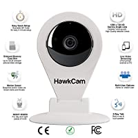 Home Security Camera Wireless, Nanny Cam With Audio, FalconWatch HD WiFi Motion Activated, Lifetime Warranty! Burglar Deterrent Hidden Camera USB, DIY Indoor Security. Watch LIVE On Your Device!