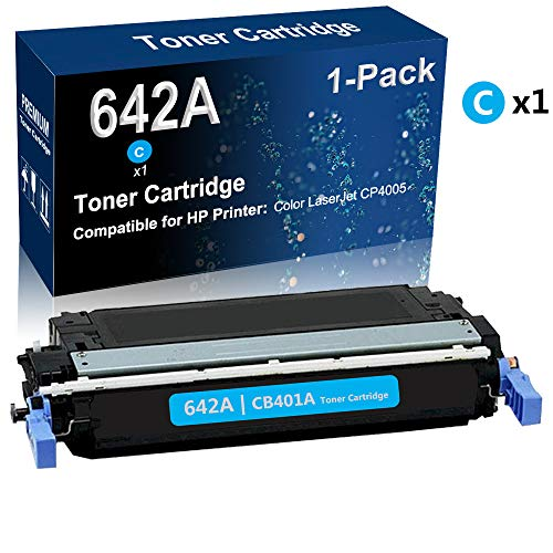 1-Pack (Cyan) Compatible Color Toner Cartridge (High Yield) Replacement for covid 19 (Color Laserjet Cp4005 Series coronavirus)