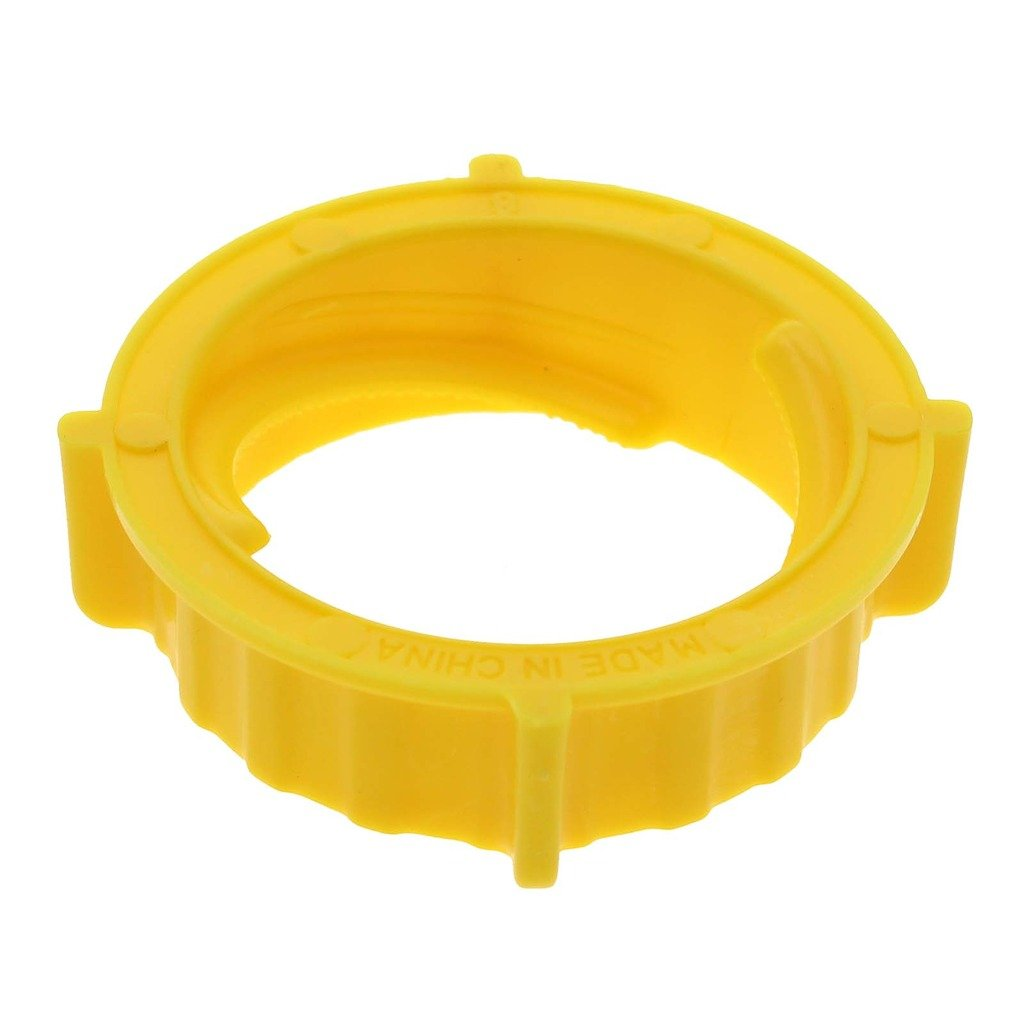 VANKER 50Pcs Practical Yellow Horizontal Tile Flat Wall Floor Balance Cap Device Tool