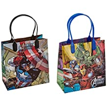 Avengers Premium Quality Party Favor Goodie Small Gift Bags 12