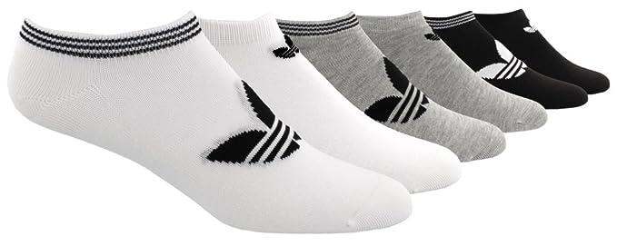 adidas Originals - Calcetines para hombre y mujer, 6 unidades, sin sombra - 977044
