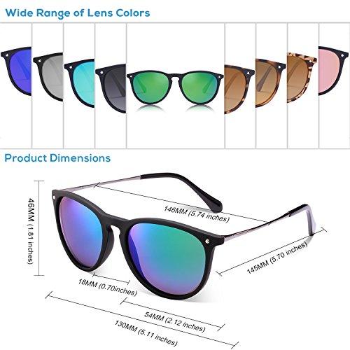 Femmes UV Cateye Protection Carfia Lunettes 100 wayfarer F de soleil Polarisées Lunettes qFw7YS0