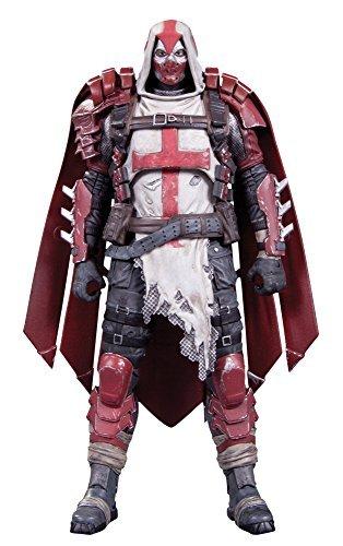 """[DC action figure """"Batman: Arkham Knight"""" # 09 Azrael 6 inches plastic painted action figure"""