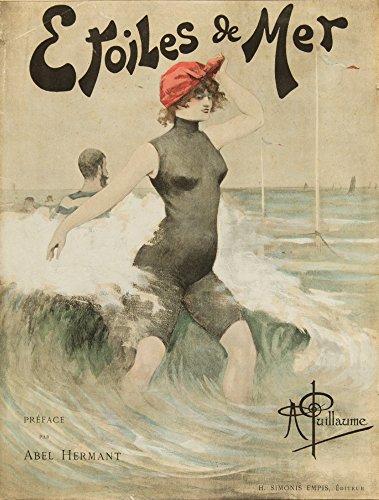 Etoiles de Mer Vintage Poster c. 1897 (12x18 Art Print, Wall Decor Travel Poster)