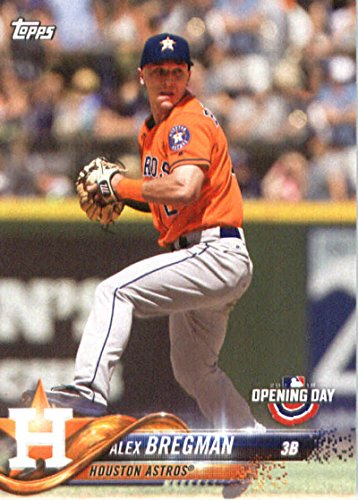 2018 Topps Opening Day #53 Alex Bregman Houston Astros Baseball Card