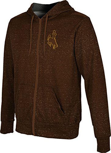 Prep Full Zip Hoodie (ProSphere University Of Wyoming Men's Fullzip Hoodie - Heather (X-Large))
