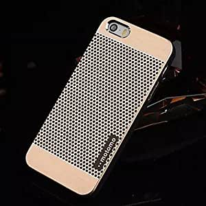 TL iPhone 5/iPhone 5S compatible Round Dots/Metallic/Special Design Back Cover