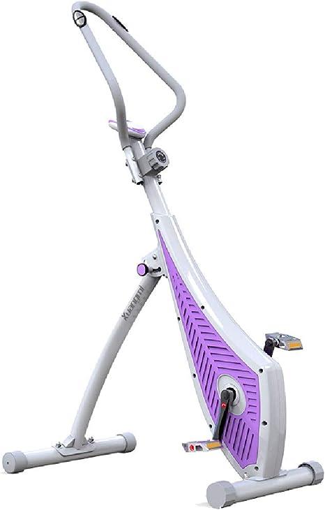Bicicleta de ejercicios Bicicleta giratoria, silenciosa, Bicicleta para Interiores, Control magnético de la Oficina para Adelgazar de la Bicicleta, Equipo de Ejercicios, Bicicleta giratoria: Amazon.es: Deportes y aire libre