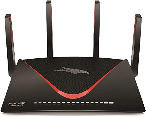 NETGEAR Nighthawk Pro Gaming XR700 WiFi Router with 6 Ethernet Ports and Wireless Speeds Up to 7.2 Gbps, AD7200, Optimized For The Lowest Ping
