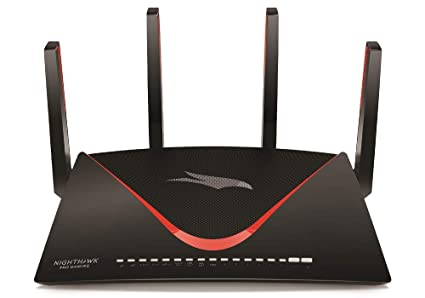 NETGEAR Nighthawk Pro Gaming XR700 WiFi Router with 6 Ethernet ports on