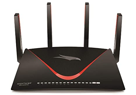 NETGEAR Nighthawk Pro Gaming XR700 WiFi Router with 6 Ethernet ports and  wireless speeds up to 7 2 Gbps, AD7200, optimized for the lowest ping