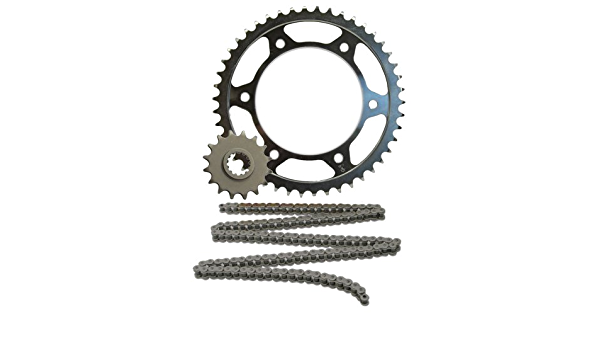 JT Sprockets JTSK2043 520X1R2 Chain and 16 Front//42 Rear Tooth Sprocket Kit
