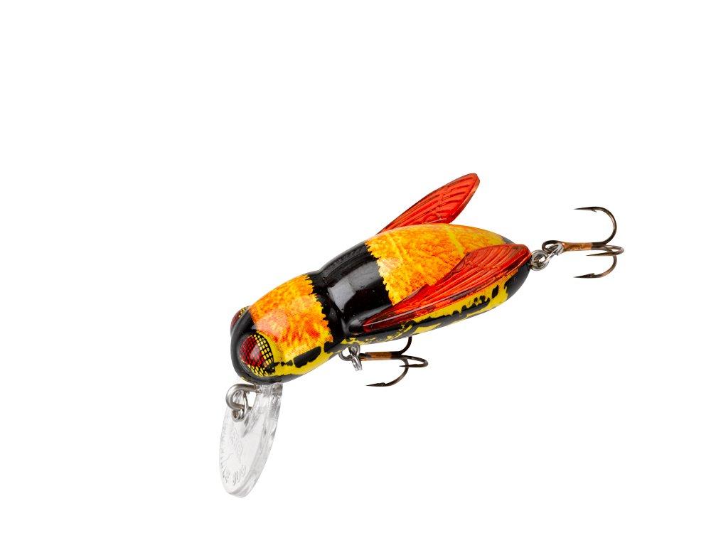 Rebel bumble bug fishing lure bumble bee ebay for Rebel fishing lures