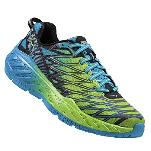 Hoka Clayton –�? – Bright Green/Black/Blue
