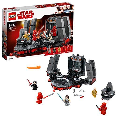 Star Wars The Last Jedi Snoke'S Throne Room Building Kit