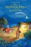 Die Weihnachtsgeschichte: Ein Adventskalender mit einem großen Fensterbild