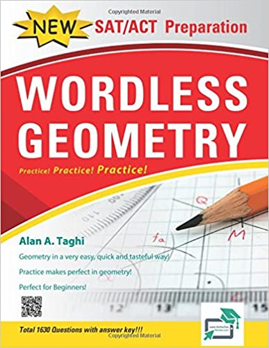 Wordless Geometry Excellent SAT ACT Geometry