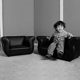 KEET Sofa and Chair Fancy Kid\'s Set, Purple/Green