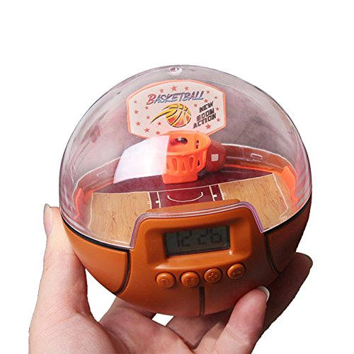 Qiyun Kids Second Generation Electronic Fingertip Handheld Basketball Palm Shoot Game Toys with LED Light and - Timings Mall Great