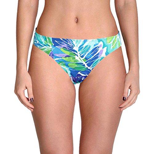 (Lauren by Ralph Lauren Women's Hipster Swim Bottom Separates (8, Blue Tropics))