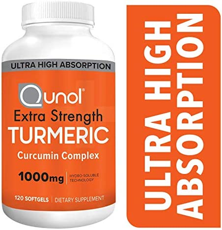 Turmeric Curcumin Qunol Absorption Supplement product image