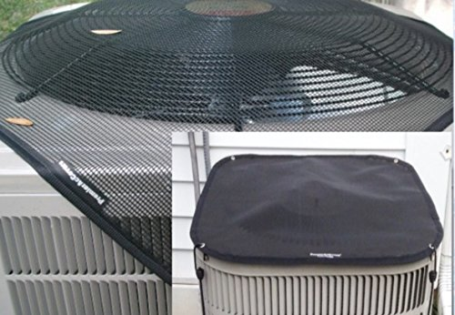 Universal Outdoor Air Conditioner Covers - PremierAcCovers - All-Season Package - HeavyDuty Winter and Summer