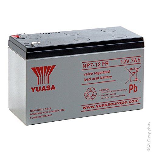 Yuasa - Batería plomo AGM NP7-12FR 12V 7Ah - Batería(s)