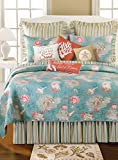 90X92'' Queen Quilt Set, Santa Catalina