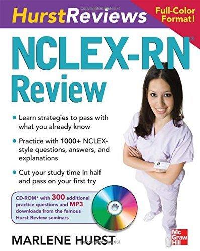 Hurst Reviews NCLEX-RN Review by Hurst, Marlene (2008) Paperback