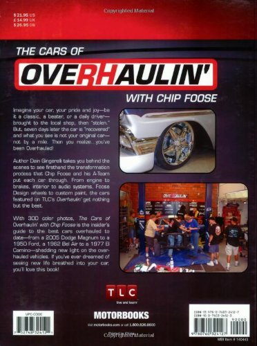 The Cars of Overhaulin with Chip Foose: Amazon.es: Dain Gingerelli: Libros en idiomas extranjeros