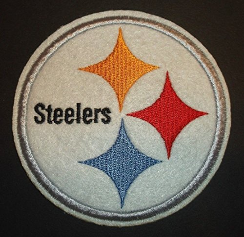Pittsburgh Steelers Embroidered Applique Patch~4