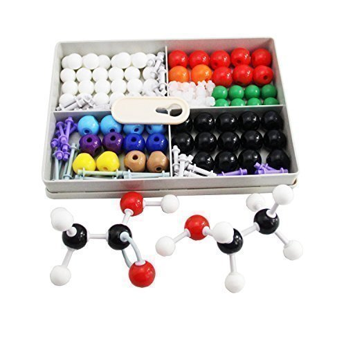 Mererke General And Organic Chemistry 186-Piece Molecular Model Student Set (75 Atom Parts CMM-X7961)