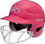 Rawlings Sporting Goods Cool-flo Series Softball Helmet, Pink