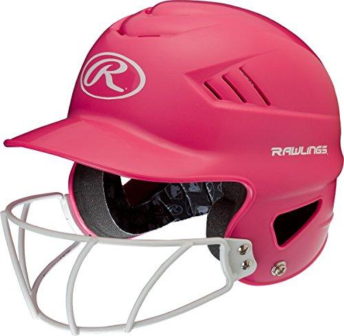 Rawlings Sporting Goods Cool-flo Series Softball Helmet, Pink by Rawlings