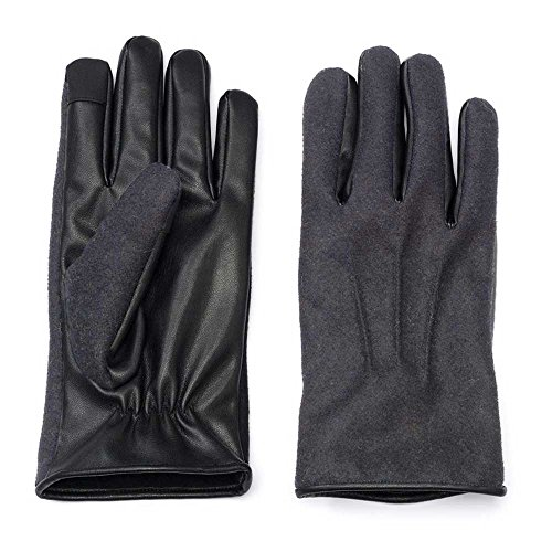 Apt. 9 Wool Blend Driving Gloves Men Grey Medium/Large from Apt 9